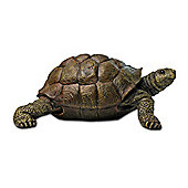 Large Realistic Resin Tortoise Garden Ornament