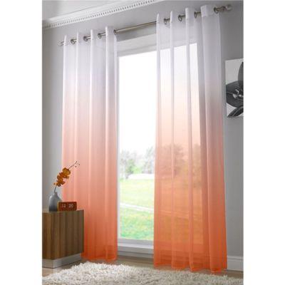 Alan Symonds Harmony Orange Single Voile - 58x90 Inches (147x229cm)