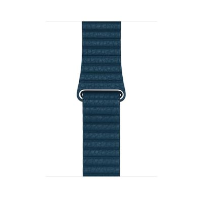 Apple MQV72ZM/A Band Blue Leather 42mm Cosmos Loop - Large