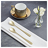 Fox & Ivy Soho Pack of 2 Latte Spoons