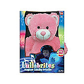 Snuggle Pets Pink Teddy Lullabrites Plush Toy