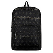 Bring Me The Horizon RockSax Gold Umbrella Print Black Backpack 32x42x11cm