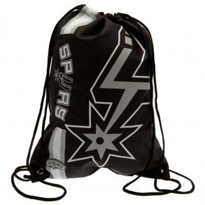 NBA Basketball San Antonio Spurs Cropped Logo Drawstring Backpack 49x34x1.5cm
