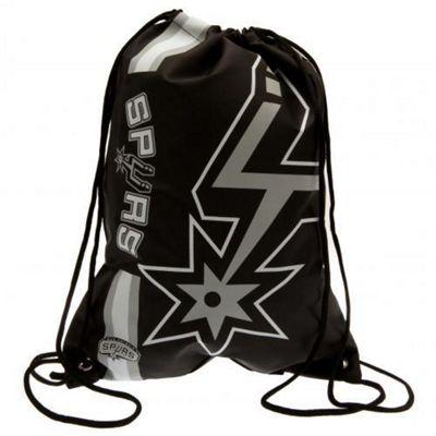 NBA Basketball San Antonio Spurs Cropped Logo Drawstring Backpack 49x34x1.5cm