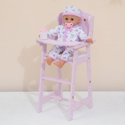 Olivia's Little World - Twinkle Stars Princess Baby Doll High Chair