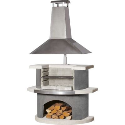 Buschbeck Zurich Masonry Barbecue Outddor Fireplace