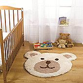 Nursery Teddy Bear Natural 75x80 cm Rug