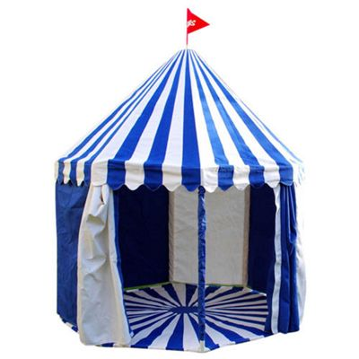 Children's Circus Play Tent Blue