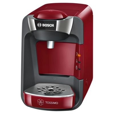 Tassimo by Bosch Suny Hot Drinks Machine, T32 - Red