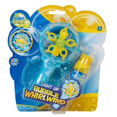 Light Up Bubble Whirlwind - Blue/Yellow