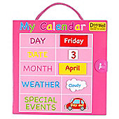 Fiesta Crafts Pink Magnetic Calendar