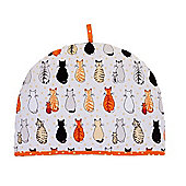Ulster Weavers New Cats in Waiting Design Cotton Tea Cosy