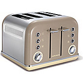 Morphy Richards 242008 Accents 4 Slice Toaster - Barley