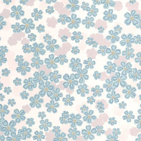 Superfresco Woodstock Floral Teal Wallpaper
