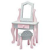 Olivia's Little World Polka Dots Vanity Table & Stool Set