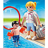 Playmobil Summer Fun Pool Supervisor