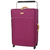 IT Luggage Tritex Quilted 4 wheel Persian Red Large Suitcase