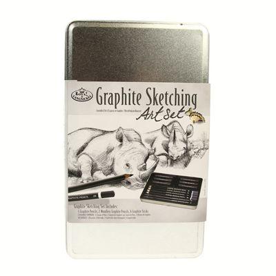 Royal Tin Sets - Graphite Sketching
