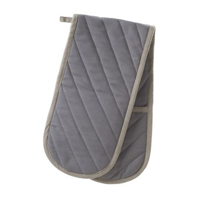 Stow Green Smithfield Grey Double Oven Glove