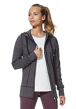 F&F Active Lightweight Fleece Lined Hoodie - Grey