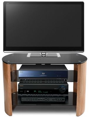 Stil Stand Light Oak and Black TV Stand For Up To 37 inch TVs