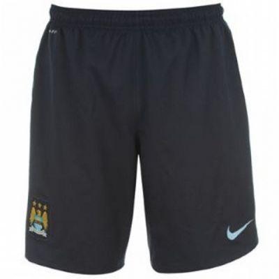 2013-14 Man City 3rd Nike Football Shorts