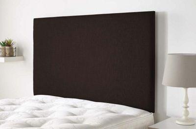 Aspire Furniture Derwent Headboard in Malham Weave Fabric - Sandle Wood - Single 3ft
