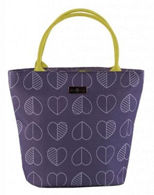 Beau & Ellliot Insulated Lunch Tote Bag, Confetti Outline Midnight