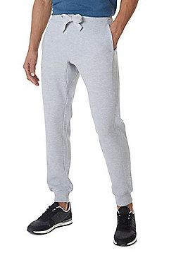 F&F Pique Textured Joggers - Grey
