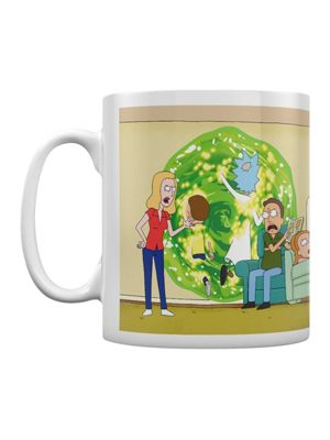 Rick and Morty Rick & Morty Portal 10oz Ceramic Mug