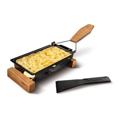 Boska Holland Life Collection Compact Partyclette To Go Oak Raclette Set