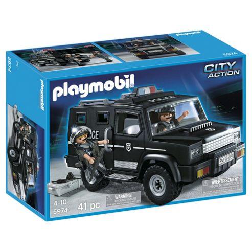 Playmobil 5974 City Action SWAT Car