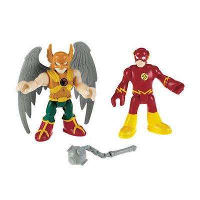 Fisher Price Imaginext DC Super Friends Hawkman And The Flash