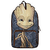 Guardians Of The Galaxy Groot Brown Backpack