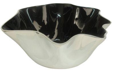 Black Ocean Enamel Wave Dish