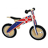 Kiddimoto Kurve Balance Bike (Union Jack)
