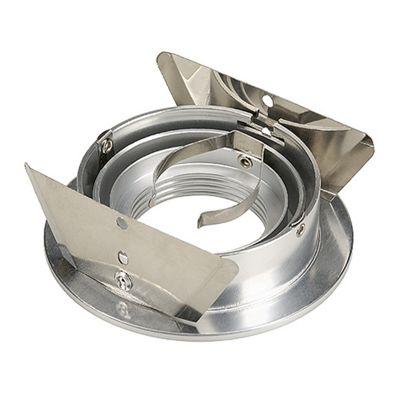 Tria Round Downlight Aluminium-Brushed Max. 50W Including Metal-Plate Springs