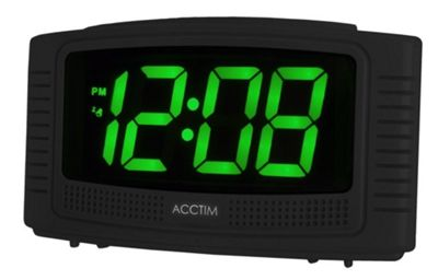 Acctim 14723 Vian Bright LED Digital Cresndo Alarm Clock