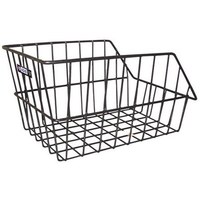 Adie Large Rear Wire Cycle Basket Black
