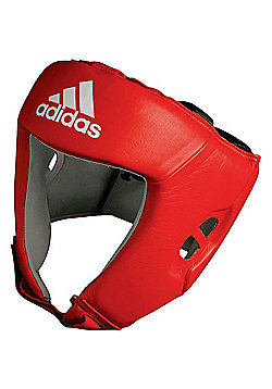 Adidas AIBA Competition Boxing Headguard - Red