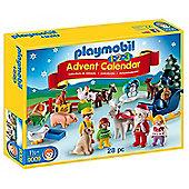 Playmobil Advent Calendar 1.2.3 Christmas on the Farm