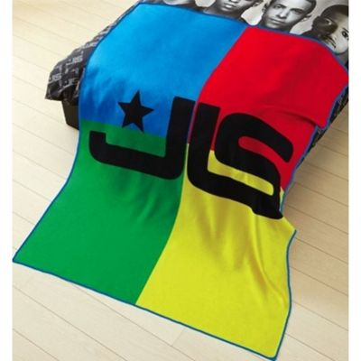 JLS Multi Panel Fleece Blanket