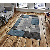 Matrix Modern Rug - Blue