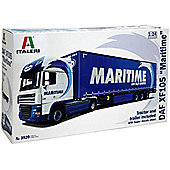 Italeri 3920 Maritime' DAF XF105 with Trailer 1:24 Truck Model Kit
