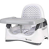 Badabulle Comfort Booster Seat (White/Grey)