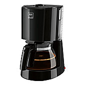 Melitta-1017-02 Enjoy II Glass Filter Coffee Machine with 15 Cup Capacity in Black