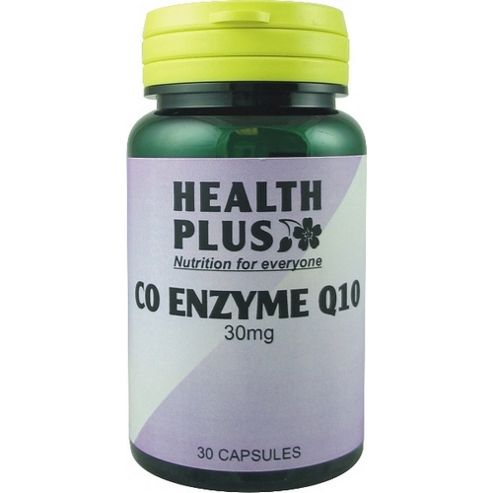 Health Plus Co Enzyme Q10 30mg 60 Capsules