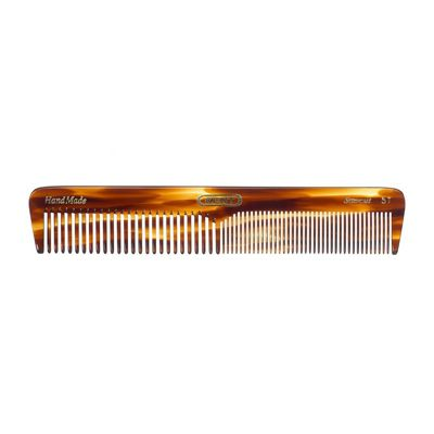 Kent 5T 170mm Womens Medium Coarse Fine Toothed Dressing Hair Comb