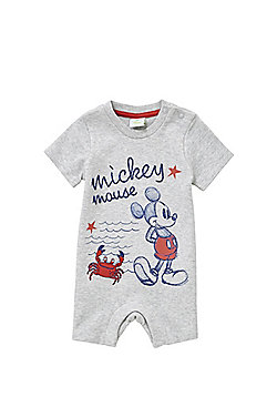 Disney Mickey Mouse Romper - Grey