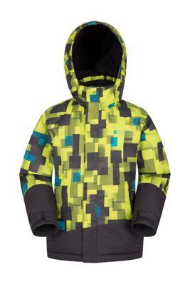 Mountain Warehouse Slope Kids Printed Ski Jacket